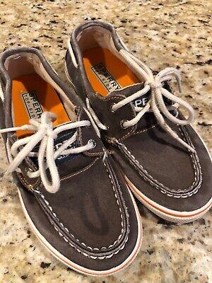 Sperry Halyard Hook /& Loop Boat Shoe K Halyard H/&L Toddler//Little Kid