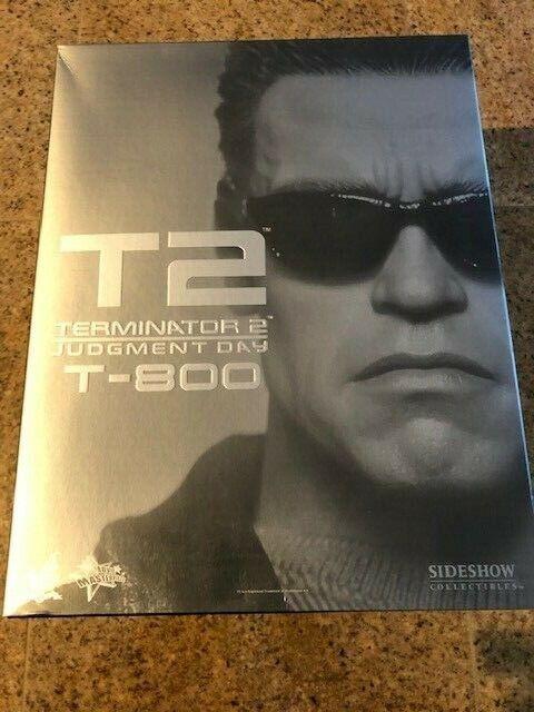 1 6 HOT TOYS MMS117 TERMINATOR T2 T-800 IN Arnold Schwarzenegger FIGURE 1 6