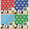 GOAL FOOTBALL WALLPAPER KIDS BEDROOM WALL DECOR BLUE RED GREEN NEW FREE P+P