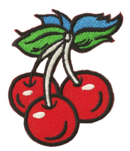 Patch écusson patche Cerise Cherry thermocollant hotfix brodé