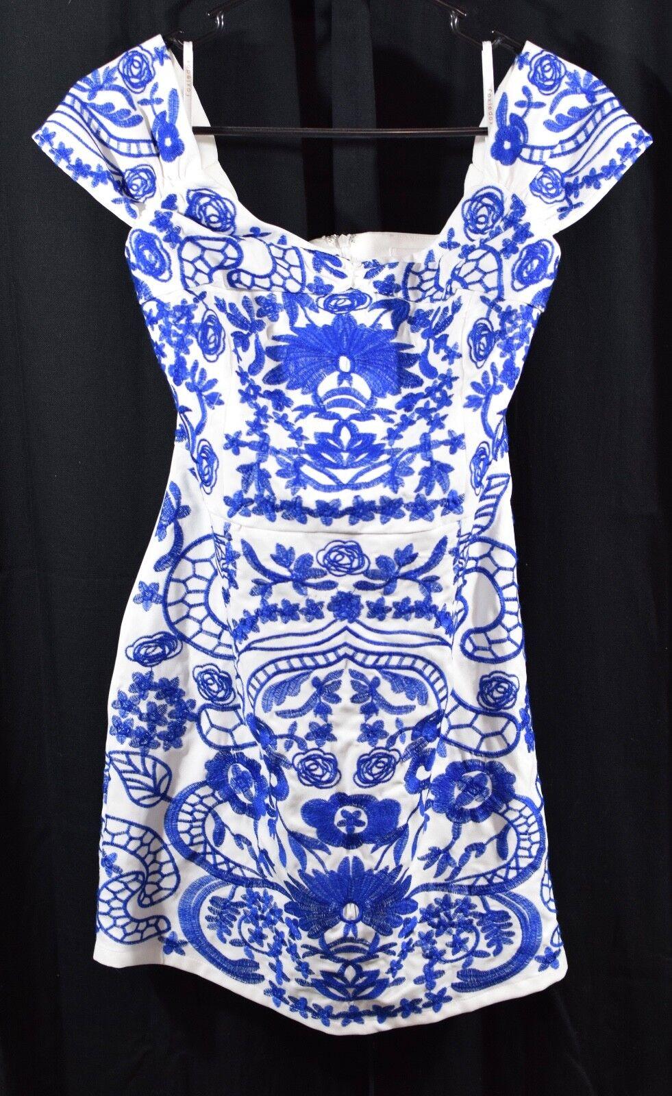 Foxiedox BETINA DRESS Cobalt Size Large
