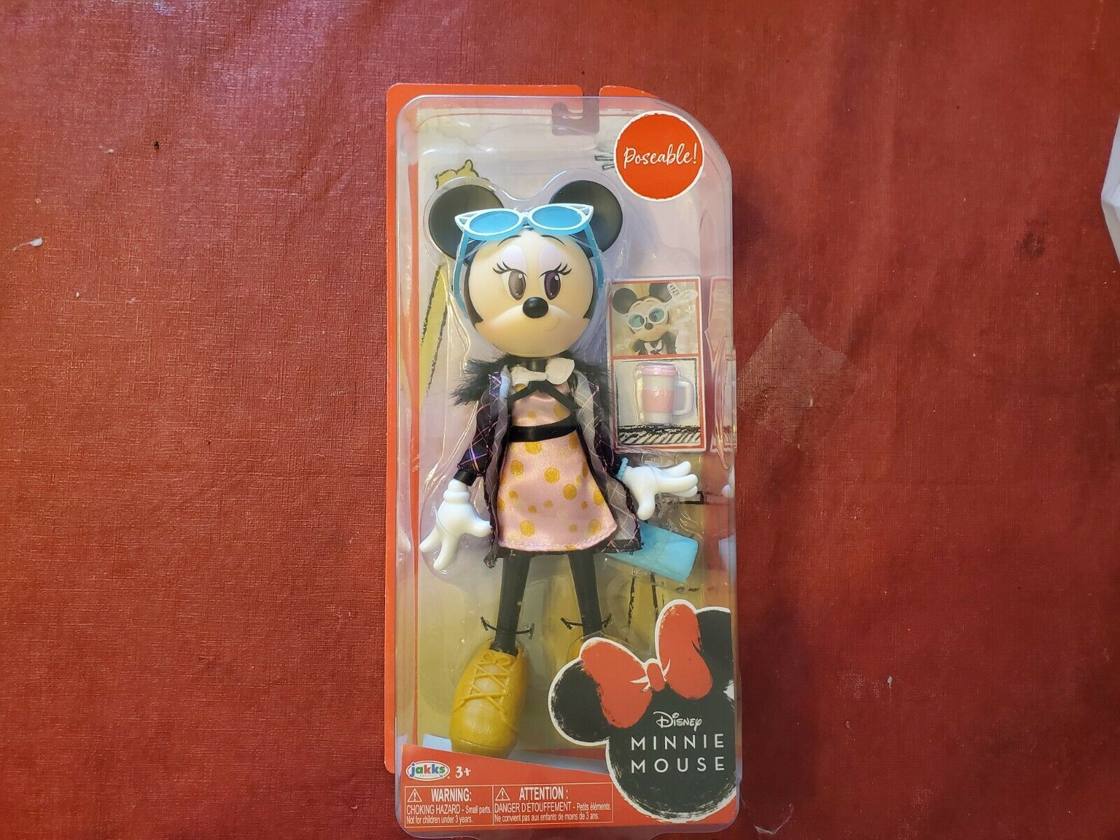 Disney Minnie Mouse sweet Latte 9-Inch poseable Doll