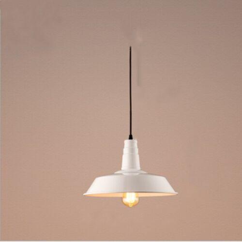 Ceiling Lamp Vintage Industrial Metal Hanging Pendant Light Fixture