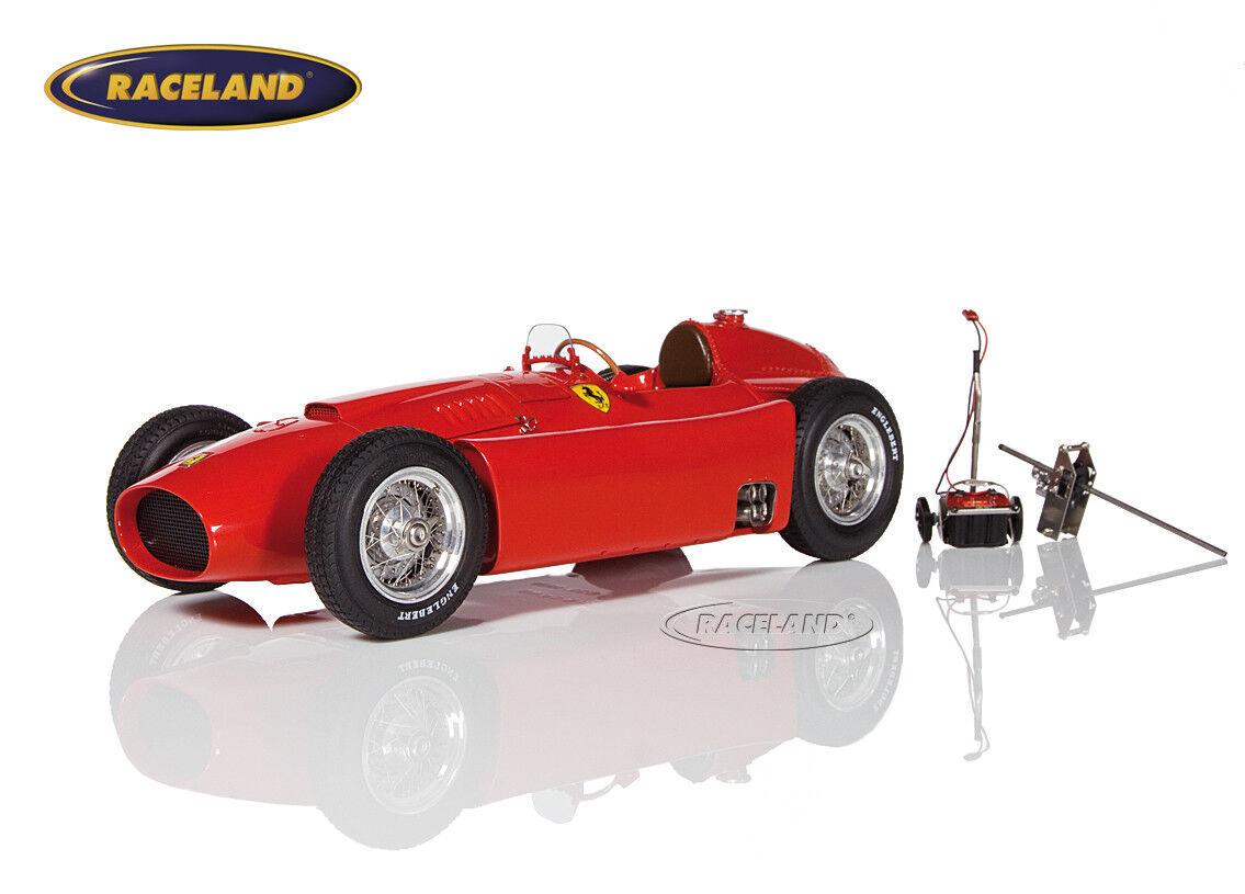 Ferrari d50 Scuderia f1 gp Inglaterra 1956 campeón mundial juan manuel fangio, CMC 1 18