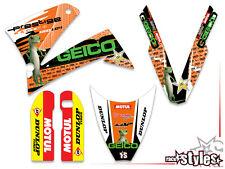 KTM LC4 SXC SM SMC DUKE 620 625 640 660 PRESTIGE | 98-07 GEICO Ltd. DEKOR DECALS