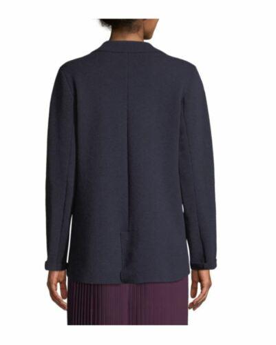 Eileen collo Xs a notte blu lavabile lana Giacca con colletto lavabile blu Fisher S in r8AqwrF