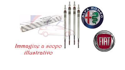 2.0 JTDM 110KW 150CV KIT 4 CANDELETTE ORIGINALI ALFA ROMEO GIULIETTA 940