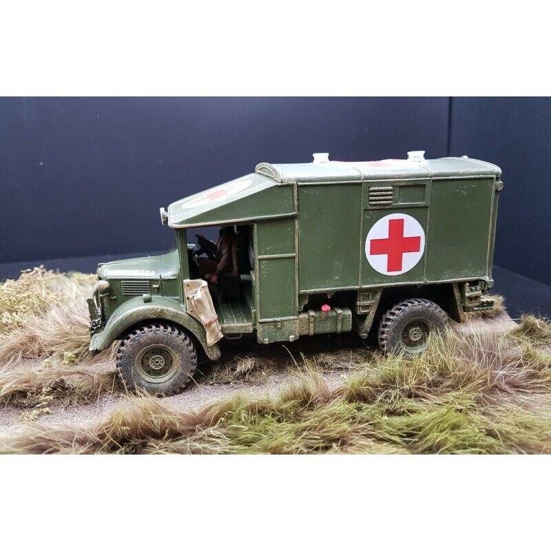 KING & COUNTRY-Ambulance Britannique AUSTIN K2, 3e division d'infanterie FOB040