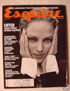ESQUIRE-Magazine-March-1998-Uma-Thurman-Madeleine-Stowe-Titanic
