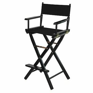 Genial Image Is Loading Directors Chair 30 In Canvas Tall Seat Wood
