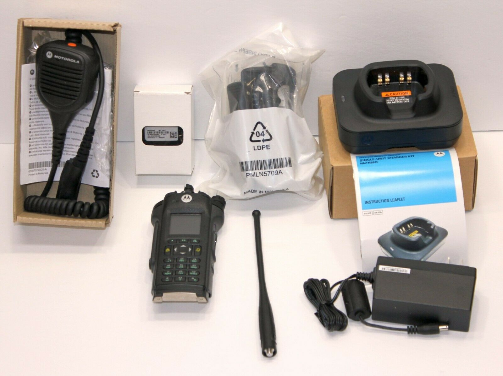 TESTED MOTOROLA APX APX6000 700/800 Bluetooth DIGITAL RADIO P25 TDMA AES  ADP. Buy it now for 1999.99
