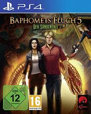 Baphomets Fluch 5  PS4-Spiel Neu