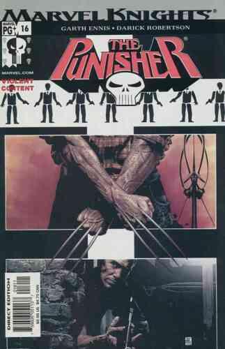2001 6th SERIES PUNISHER #16 NEAR MINT MARVEL COMICS