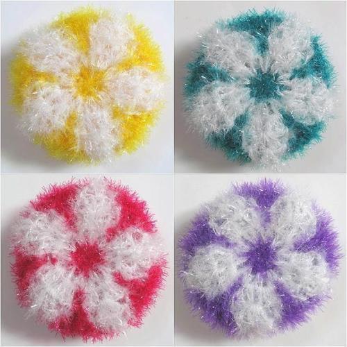 Crochet Eco Dish Scrubbies  Set  of 20  (NO.5)