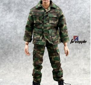1-6-Scale-Hot-ARMY-Camouflage-Texturing-Uniform-Set-For-12-034-Action-Figure-Toys