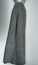 PHASE EIGHT high waist wide leg pants size 10 ---BRAND NEW-- wool & silk blend