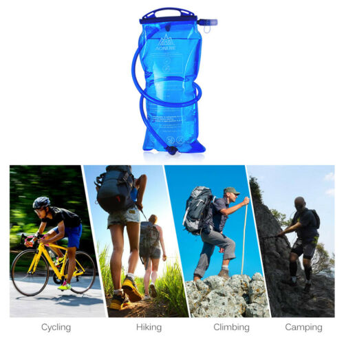 AONIJIE 1-3L Outdoor Hydration Water Bag Outdoor Foldable Sport Water Bladder