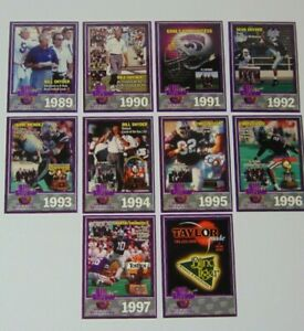 Vintage-1998-Kansas-State-Football-Bill-Snyder-Years-1989-1997-Card-Set-KSU-NCAA