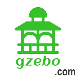 GZEBO.com 5 Letter Catchy Brandable Premium .com Domain Name for Sale GoDaddy