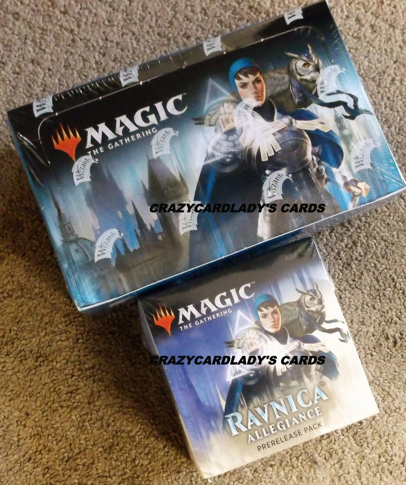 MAGIC RAVNICA ALLEGIANCE BOOSTER BOX & AZORIUS PRERELEASE KIT FREE PRIORITY SHIP