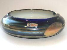 A Beautiful  'Flora' Glass Bowl By Jiri Suhajek For Crystalex - Novy Bor