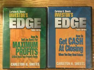 Carleton H Sheets Investor S Edge Investment Property Dvds 4 Dvd S Ebay