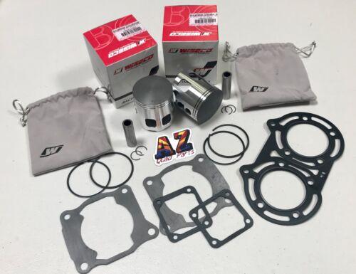 Banshee 64mm Stock Bore Wiseco GP Race Coated Pro Lite Pistons Set Gaskets Kit