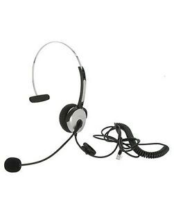 6ft monaural office call center home phone headset headphone w rj22 Home Telephone with Headset image is loading 6ft monaural office call center home phone headset