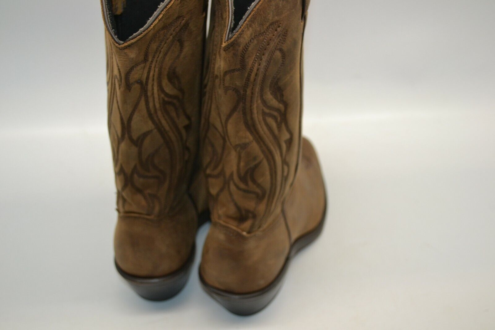 Abilene SAGE Women's Women's Women's Western Cowgirl BROWN SZ 9 M Boot ROUND Toe 3551 USA MADE fb1e5a