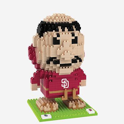 MLB San Diego Padres 3D BRXLZ Baseball Cap Hat Construction Set Fanatics