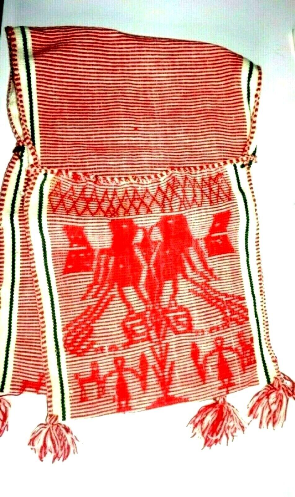 Peruvian andean shaman ceremony chuspa - Cusco andean communities-Double Chuspa