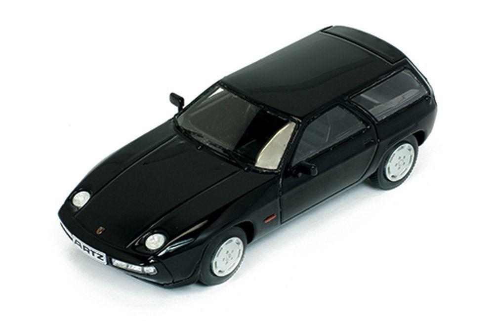 Premium-X 1 43  pr0381 Porsche 928 s combi (1979), nero-by Ryo