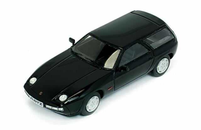 Premium-X 1/43: Pr0381 PORSCHE 928S Familiar (1979 ), Negro - By Artz