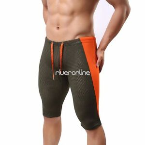 mens running sports tight underwear breathable workout gym