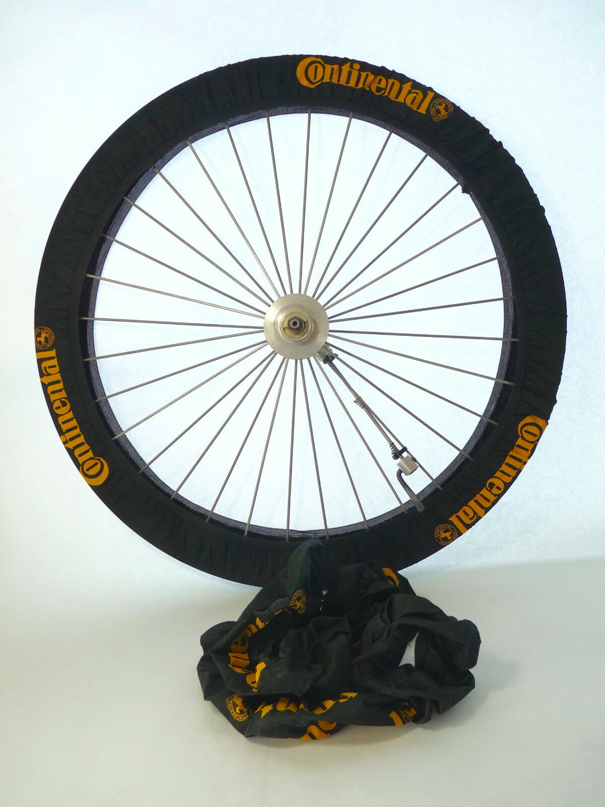 Continental wheel covers tire pair Vintage road Bicycle tubular or clincher NOS