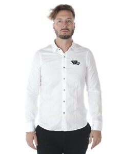 3z1cl61nfpz Armani Fit Emporio Regular Bianco 100 Camicia Shirt Cotone Uomo g4Rqwy77Bc