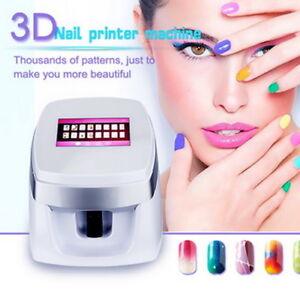 Image Is Loading Digital Nail Art Printer Painting