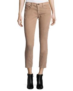 Tan Corduroy Size 30 NWT Rag /& Bone Womens Tomboy Cropped Skinny Jean