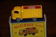 Vintage Matchbox Toys / MIB / Karrier Bantam Coca-Cola Truck / No. 37 B Series
