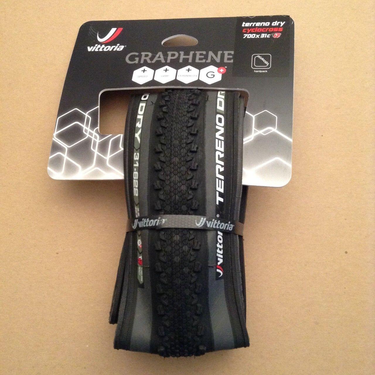 Vittoria Terreno Dry G Cyclocross Größel Reiten 31c 700c TNT Tubeless Tire