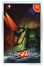 BORDER DOWN SEGA DREAMCAST FRIDGE MAGNET IMAN NEVERA