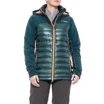 Womens S M L XL Columbia HEATZONE 1000 TURBODOWN OMNI HEAT SKI DOWN JACKET | eBay
