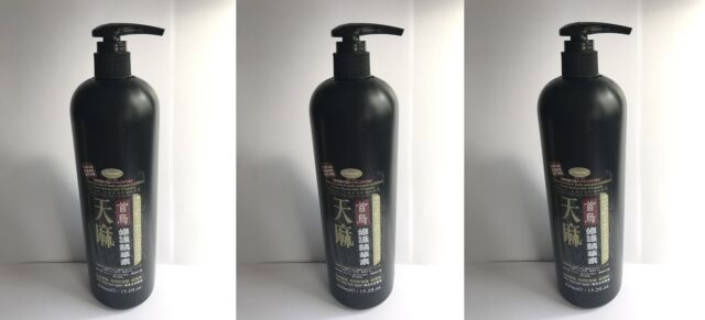 3 x O'Naomi Gastrodia Chinese Herbal Hair Treatment 430ml / 15.2 fl.oz.