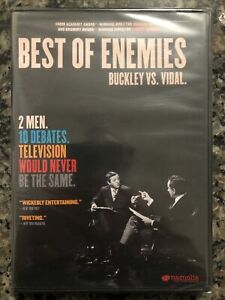 Best of Enemies Buckley Vs Vidal (DVD, 2015) NEW