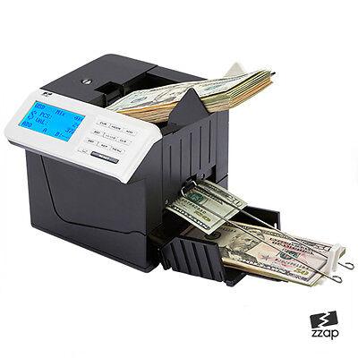 Bank notas TALONARIO Dinero Moneda Contador Count Automático Golpear Máquina