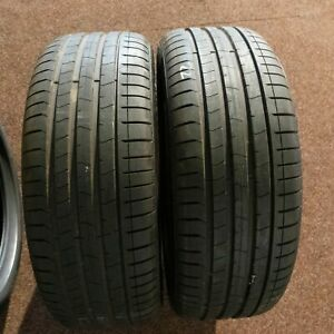 2x-PIRELLI-P-ZERO-245-45-r20-103-W-Dot-0319-7-mm-pneus-d-039-ete-Runflat-20-in