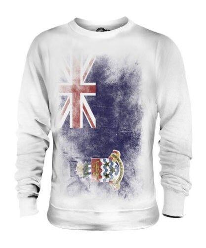 Kaimaninseln Verblichen Flag Unisex Pullover Top Caymanian Hemd Fußball-geschenk