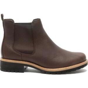 Ecco Elaine Womens Ladies Brown Leather