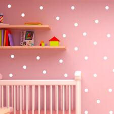 Polka Dot Wall Stickers Decal Childs Kids Vinyl Art home Decor spots Mural 120