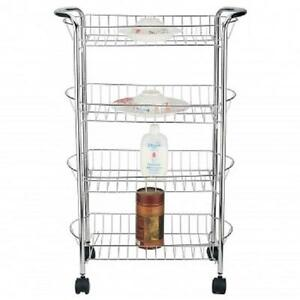 Better Chef 4 Tier Rolling Kitchen Pantry Laundry Room